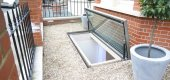 opening hinged escape rooflight